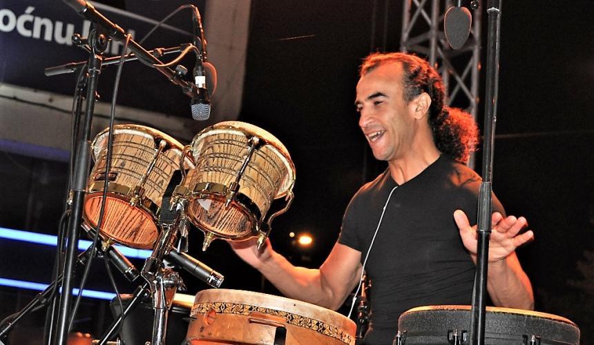 Weltbekannte Perkussionist Rhani Krija.  © Sulejman Mulaomerovic