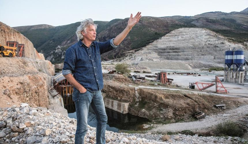 Ulrich Eichelmann - Riverwatch CEO and campaign coordinator - will talk at the screening © Andrew Burr