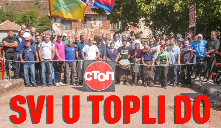 "Solidarity watch: ""Everyone to Topli Do"" © Dusan Bodiroga"