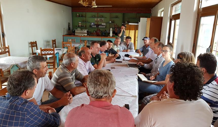 They were never officially informed about the dam plans: the residents of the affected village of Kut. © EuroNatur