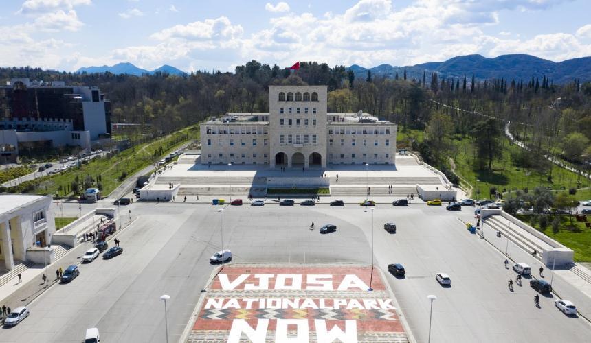 Tirana University /Albania © Adrian Guri