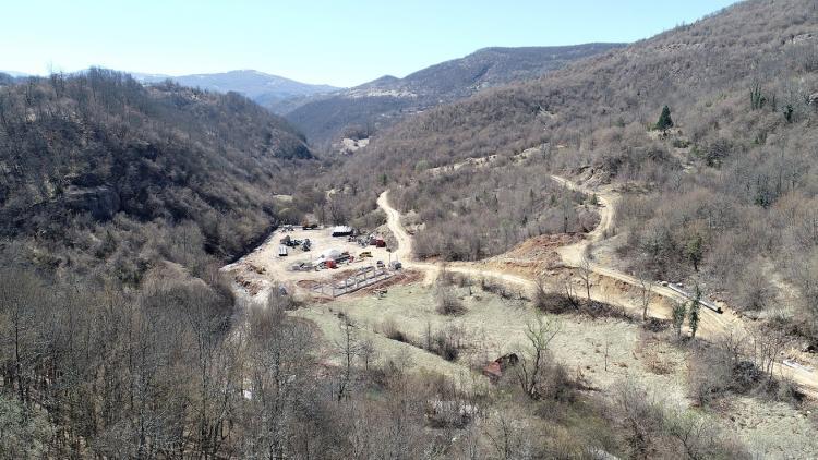 Construction site on River Vrhovinska © Robert Oroz