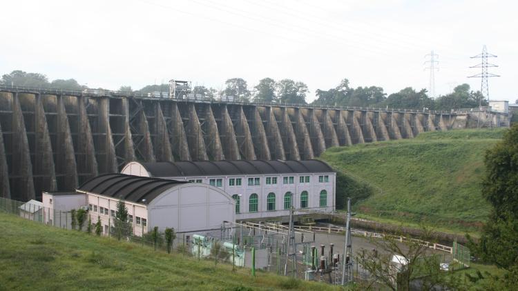 Die Tage des Vezin Staudamms sind gezählt – es ist das bisher größte Staudammabrissprojekt Europas © JP Doron