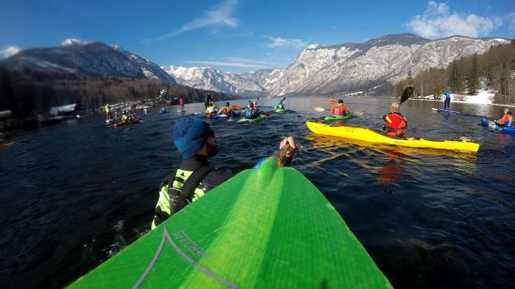 Von der Save bis zur Vjosa: Kayakers von ganz Europa werden 16 bedrohte Flüsse in 6 Balkanländern befahren © Rok Rozman