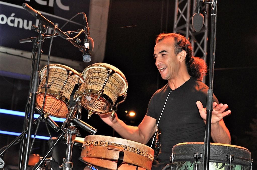 World-renowned percussionist Rhani Krija © Sulejman Mulaomerovic