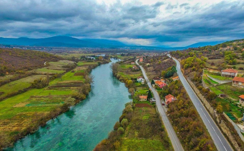 Cetina River near Sinj © Courtesy of the Ne daj se, Cetino! - Spasimo Peruću i Cetinu od termoelektrane! Facebook group