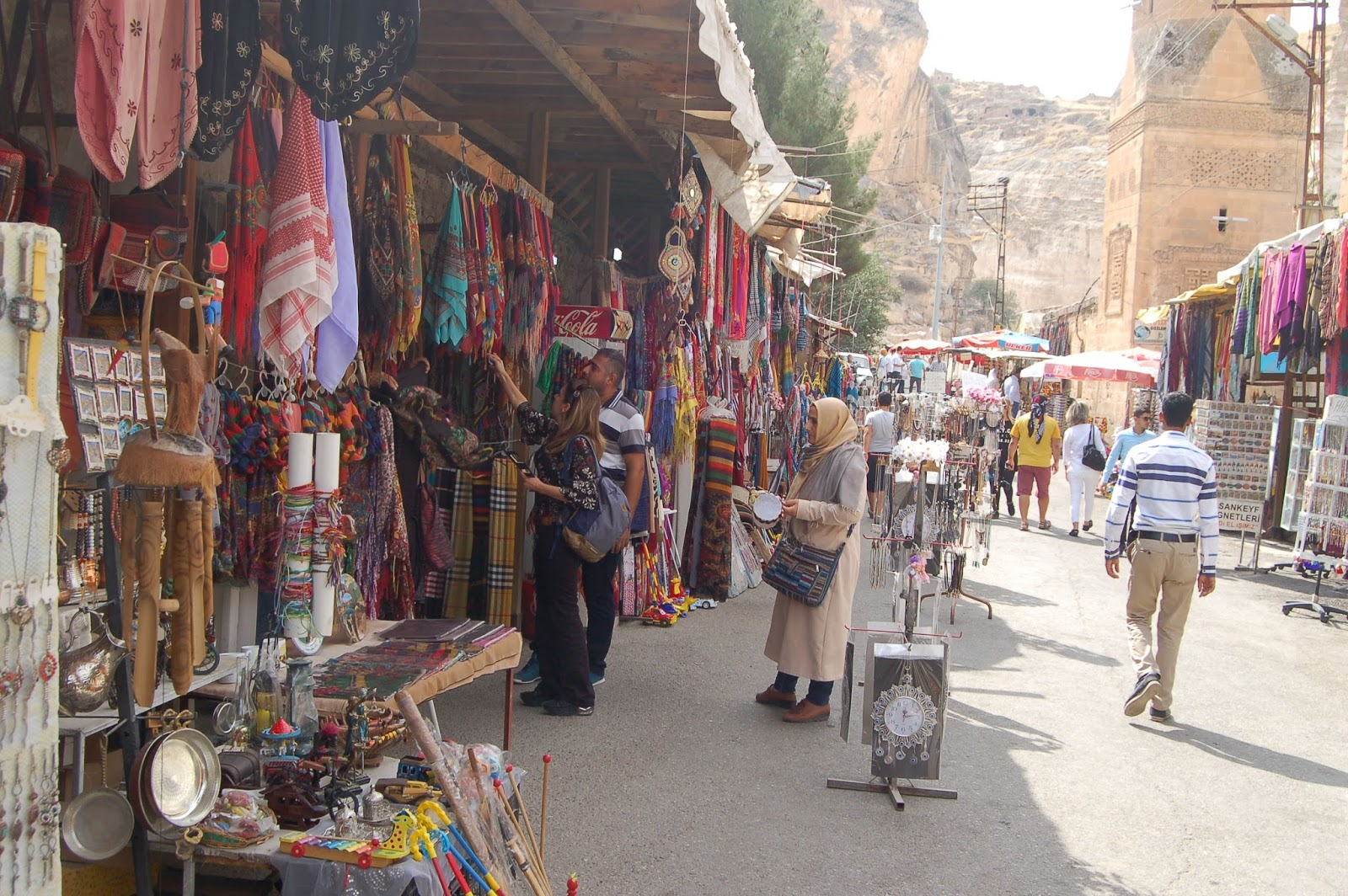 Hasankeyf's historic market (Fall 2017) © Hasankeyf Matters