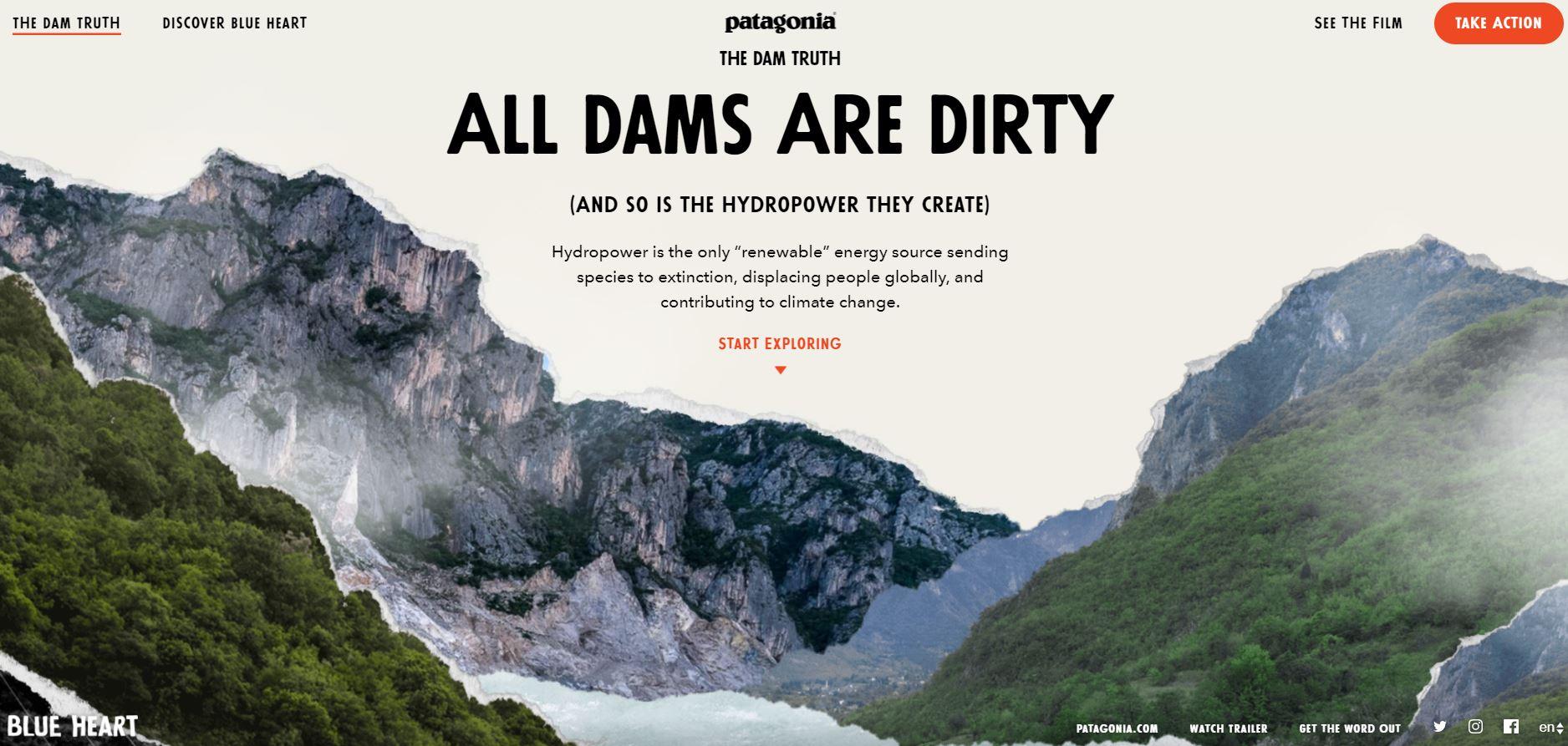 Lesen Sie warum Staudämme schmutzig sind