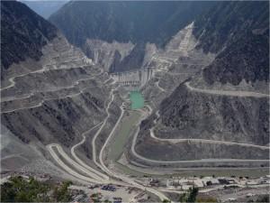 Umweltbedrohung Gefahr Staudamm Zerstörung