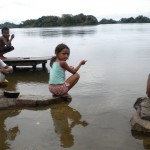 In the Xingu, children can catch a fish every few minutes