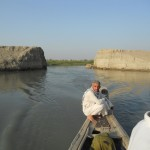 In the 1990s, Saddam Hussein ordered the marshes to be dried out as a revenge for the Marsh Arabs' opposition during the first Gulf War. After Saddam's capture in 2003, people tore holes into the dams and the water could flow where it always had. Photo: Ulrich Eichelmann