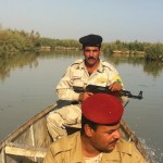 Near the Iranian border, one can only visit the Huizah Marshes when escorted by military guards.  Photo: Ulrich Eichelmann