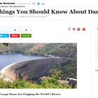 10 Things you Should Know about Dams