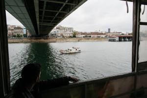Am Boot: Am letzten Tag der Veranstaltung luden wir alle TeilnehmerInnen zu einer Bootsfahrt auf Sava und Donau ein. Photo: Anze Osterman/Leeway Collective