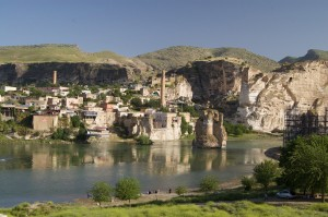 Hasankeyf is supposed to drown in the reservoir of the Ilisu dam. Photo: Courtesy of Hasankeyf Matters