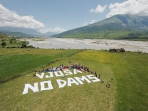 Die Vjosa soll staufrei bleiben. Heute wurde Klage gegen das Wasserkraftprojekt Pocem eingereicht. © Oblak Aljaz