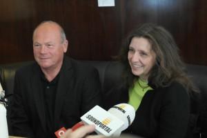 Die zwei Angeklagten Herr Keppel und Dr. Ull. Weitere Klageschriften wurden bereits zugestellt. Foto: Andrea Feierl